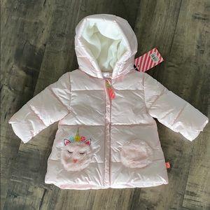 Billieblush Baby Girl Bubble Jacket Size 12M
